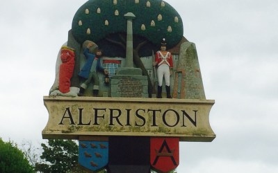 A bit of a walk and a day out in Alfriston