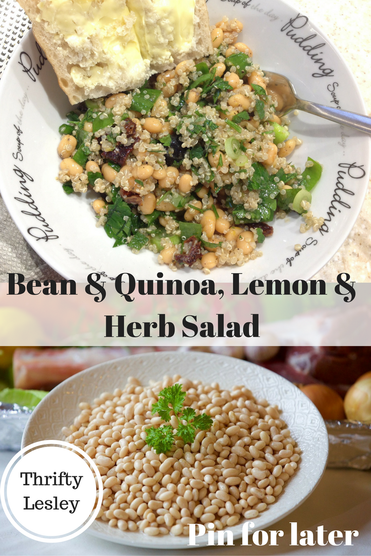 Bean & Quinoa, Lemon & Herb Salad