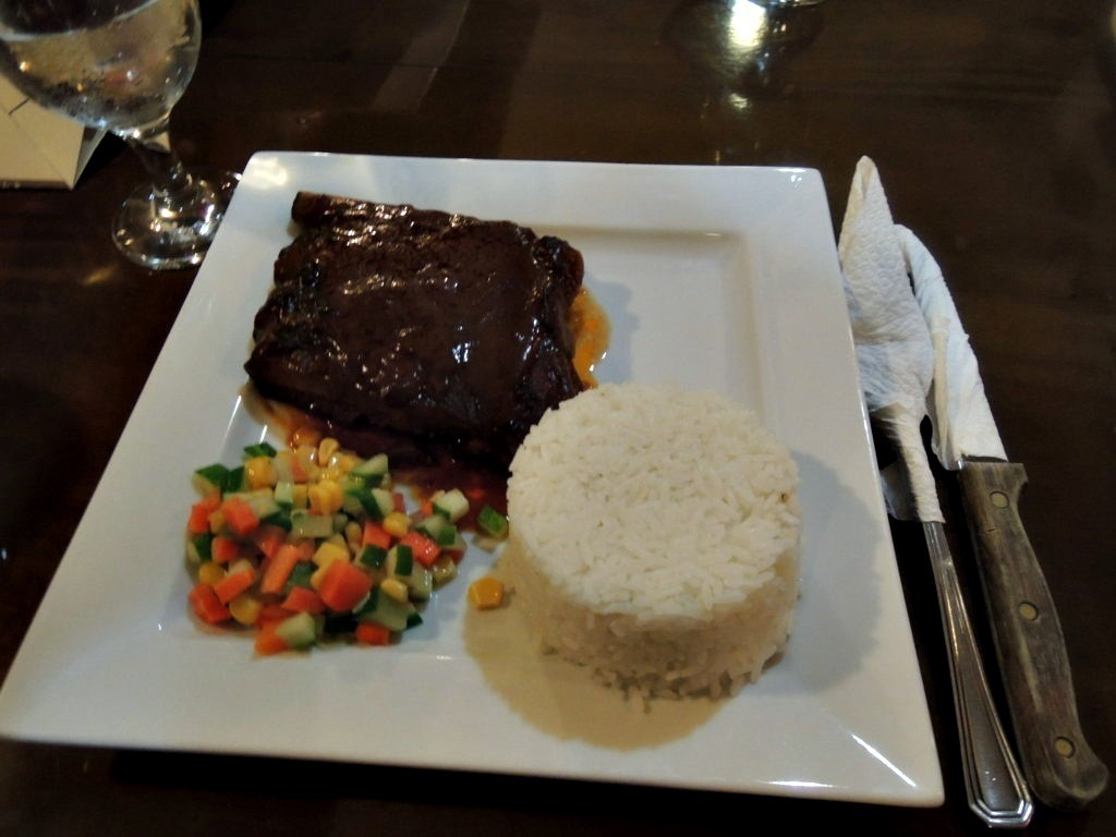 Baby Back Ribs Solo Php170.00, cafe caliente, butuan, butuan city