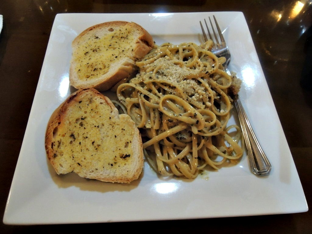 Pesto Linguine Php190.00, cafe caliente, butuan, butuan city