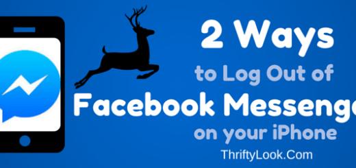 log out fb messenger, log out facebook messenger, ios 8, iPhone, facebook, fb, facebook messenger