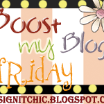 Boost Your Blog and A Deal or Two