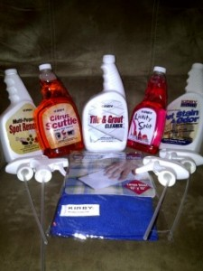 Kirby Cleaning Products