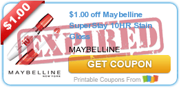 $1.00 off Maybelline SuperStay 10HR Stain Gloss