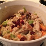 Cooking With Kids – Turkey Stuffing Pot Pie