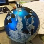Handmade Snowy #DIY Simple Christmas Ornament