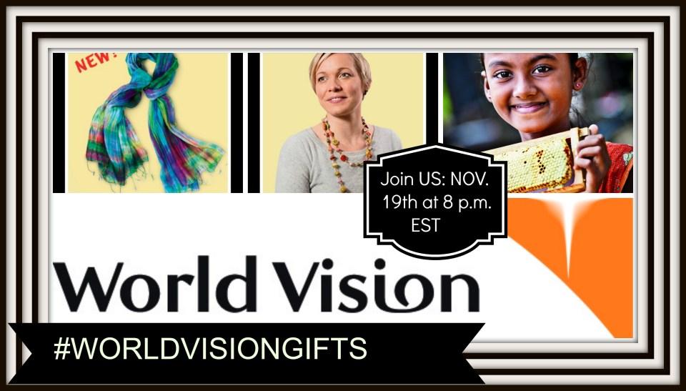 World Vision Canada gift catalogue