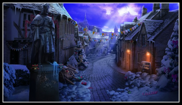 Christmas Stories is a puzzle, hidden object adventure game