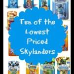 Ten of the Lowest Priced Skylanders Toys