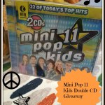 K-Tel's Mini Pops CDs 11 and 12 for Kids #Giveaway