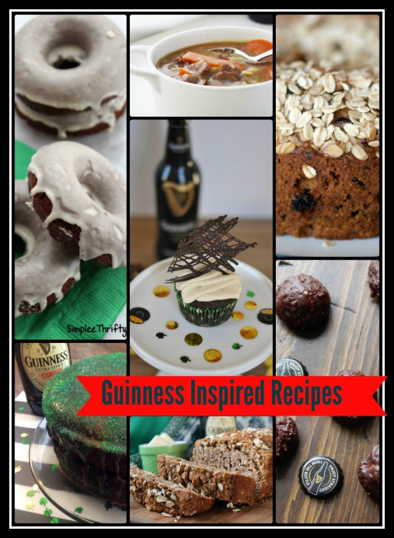 Guinness Inspired Recipes