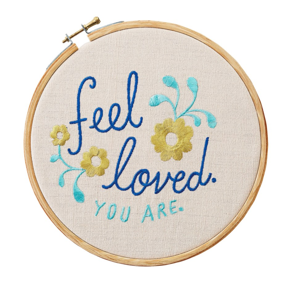 Embroidered Sentiment MSRP $12.95