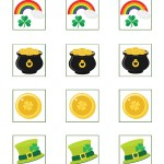 St. Patrick's Day Cupcake Toppers Printable