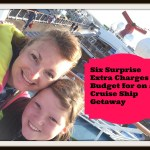 Six Cruise Hidden Extras #TravelTuesday