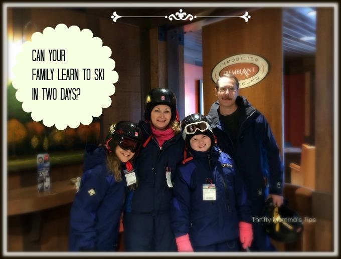 Tremblant ski school