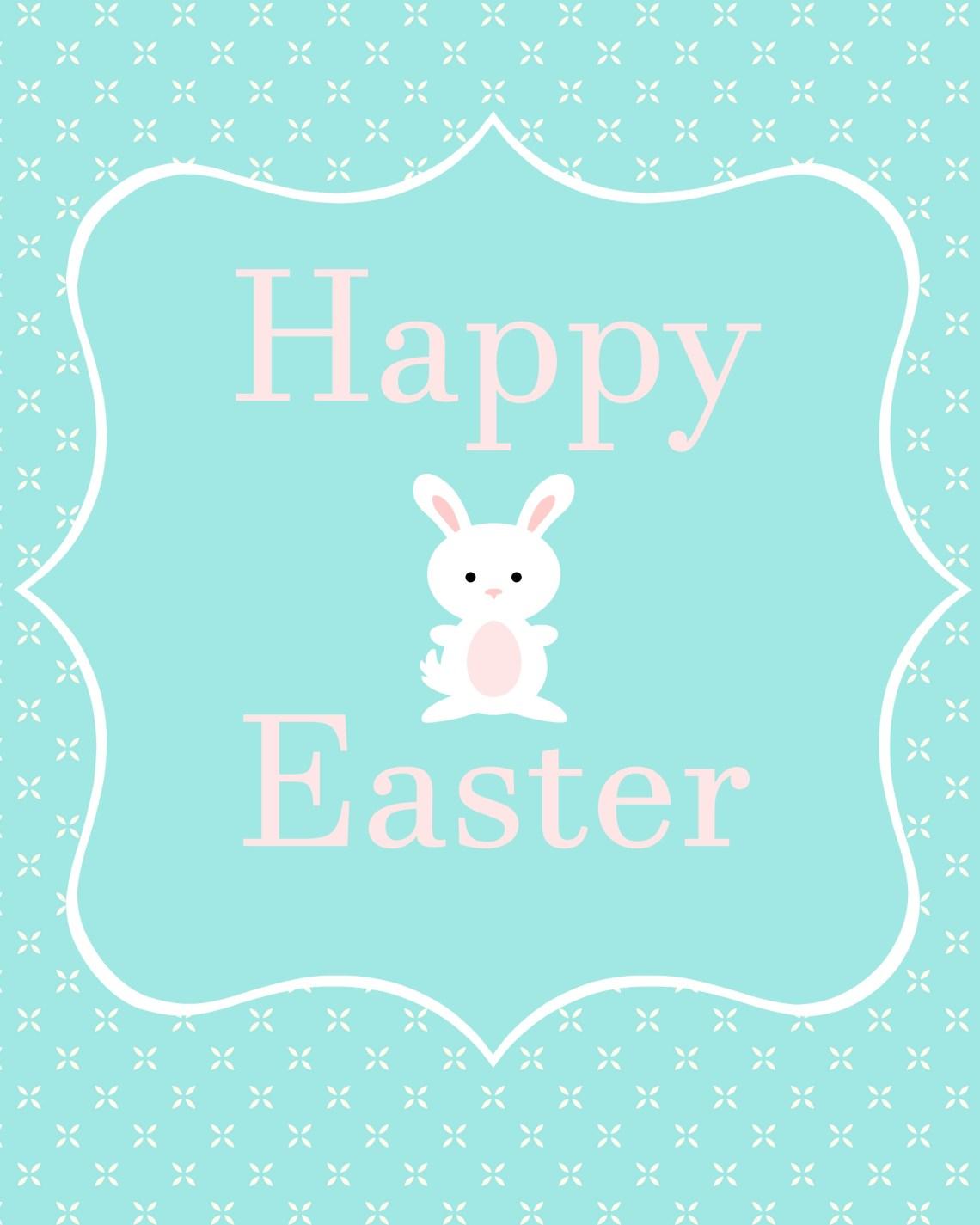 Happy Easter printable