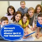 Microsoft Summit on 21st Century Learners – EVENT in Windsor, Ontario, April 11 Geared Towards Teachers