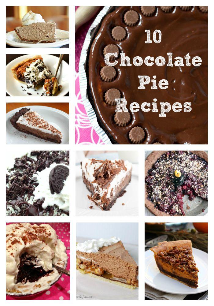 chocolate-pie-recipes