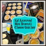 Easy Kid Approved Lunch Time Broccoli Cheese Mini Quiches #GayLeaMom