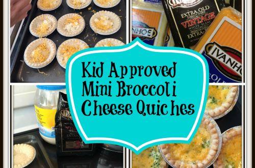 Kid Approved Mini Quiche