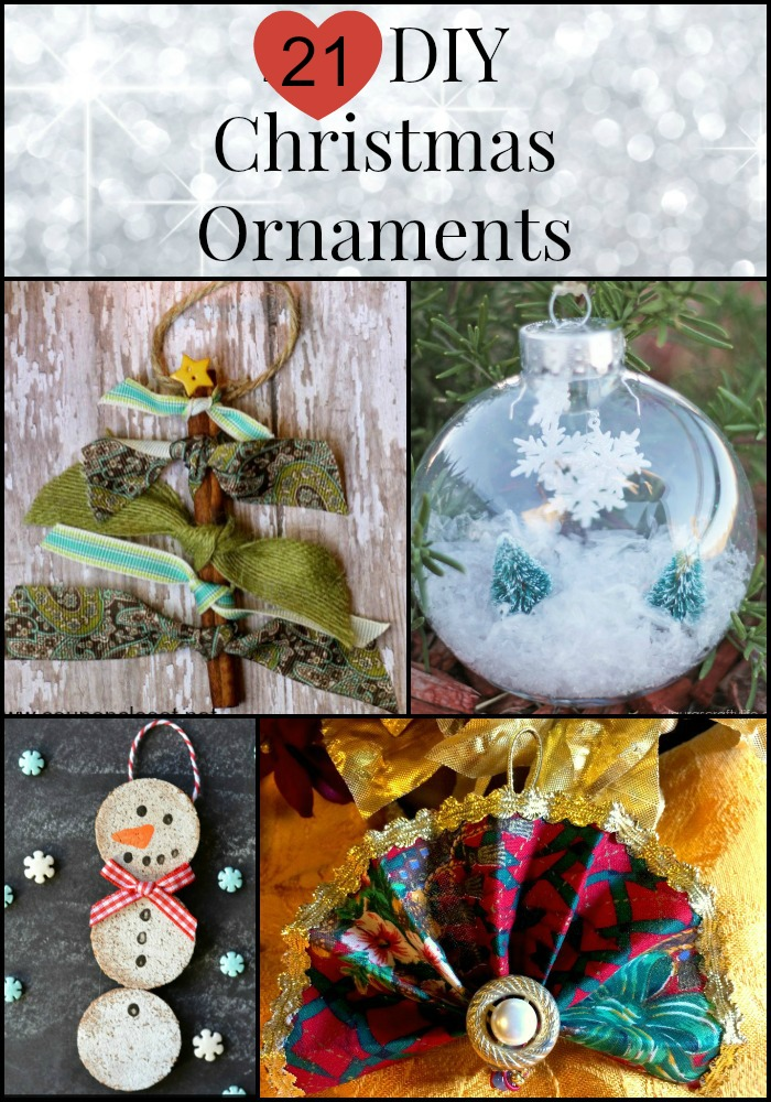 21 DIY Christmas Ornaments