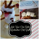 Frozen's Olaf Marshmallow Craft – Do You Wanna Build a Snowman?