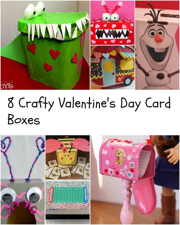 Eight Crafty Valentine S Day Card Boxes Thrifty Mommas Tips