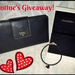 Valentine's Day Fossil Wallet and Pandora Giveaway ARV $200