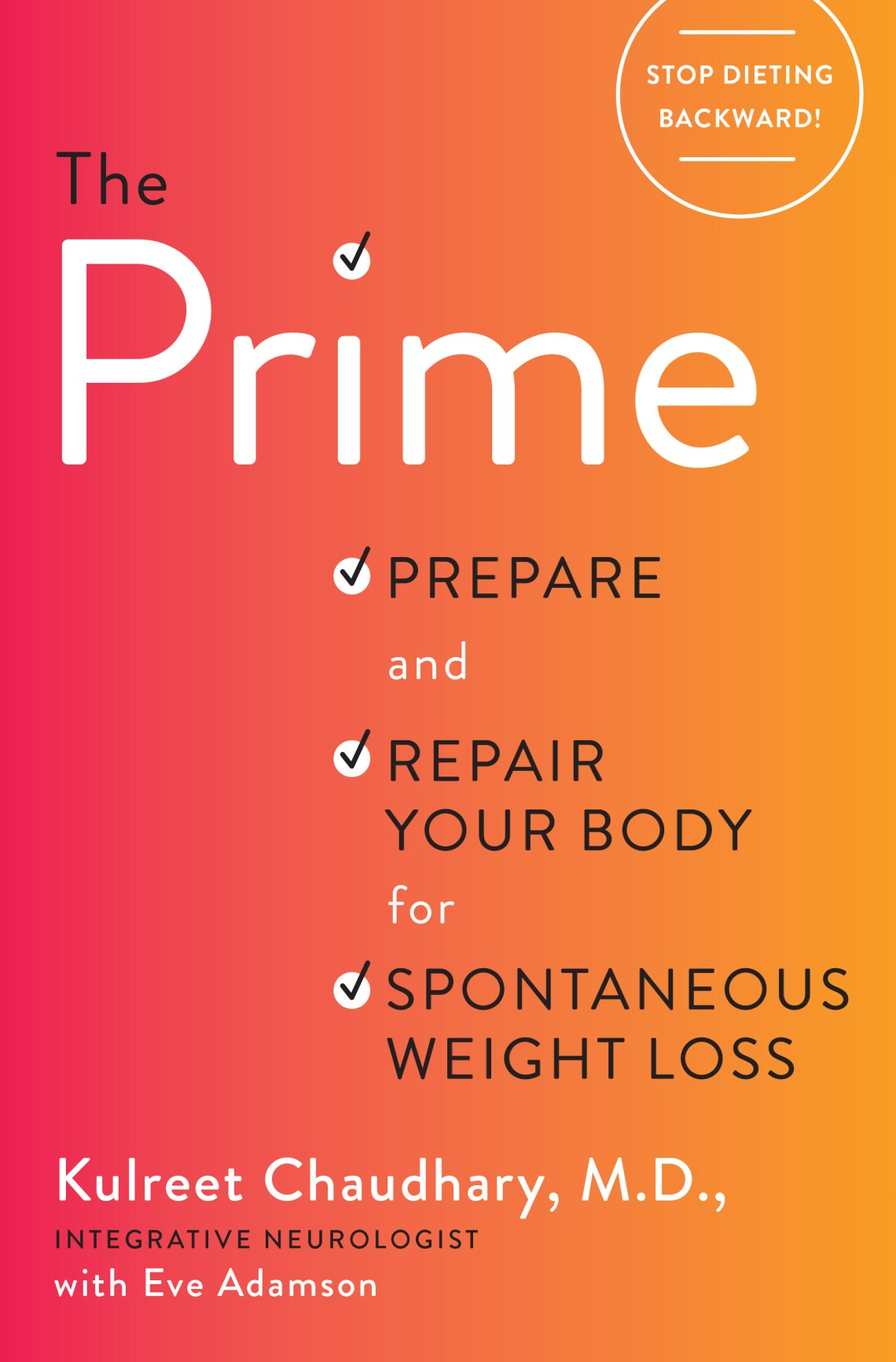 The Prime Review - Stop Dieting Backwards #Giveaway
