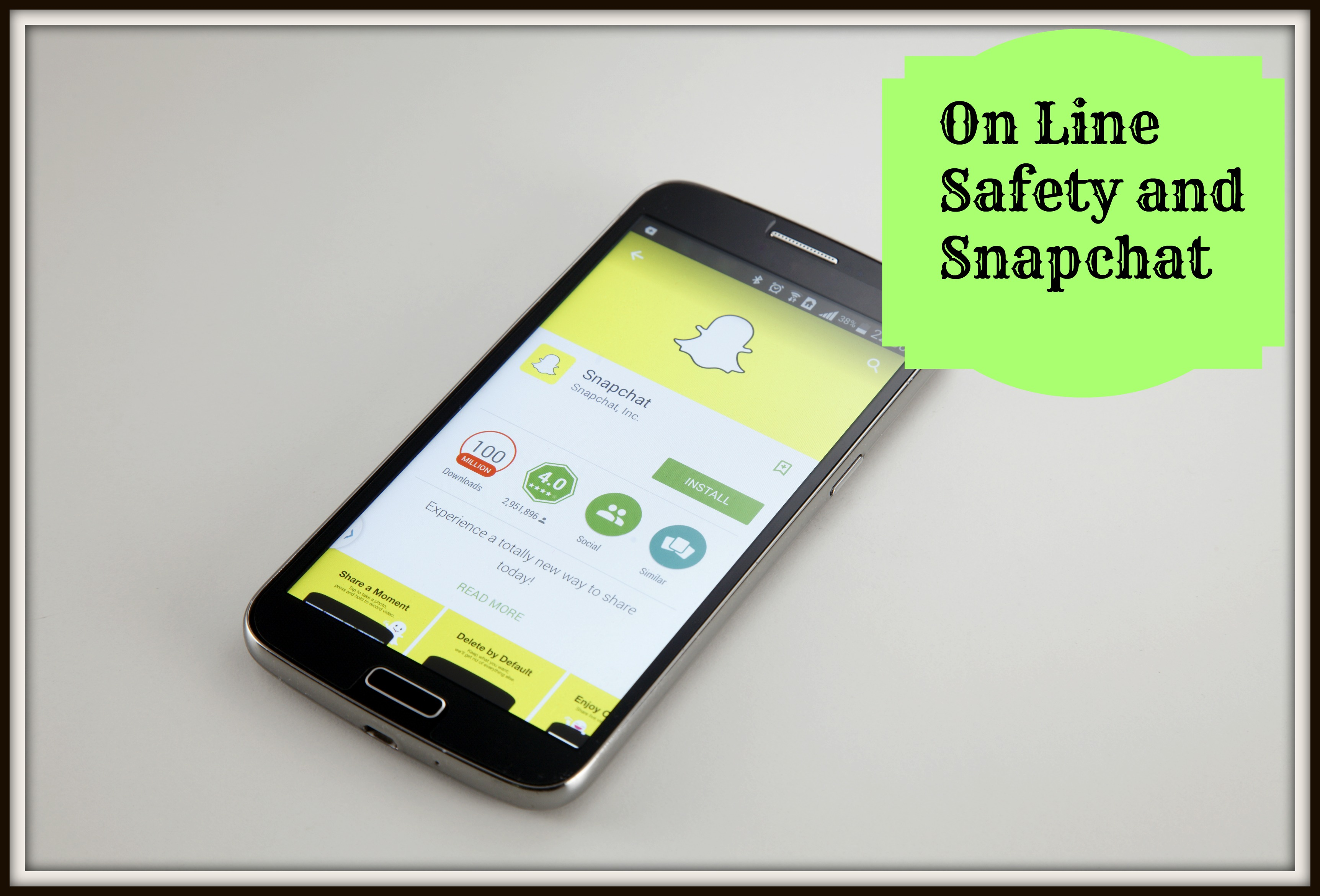 Online Safety and Snapchat - Thrifty Mommas Tips