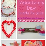 Five Cute Valentine Crafts for Kids
