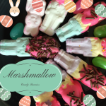 Frosted Marshmallow Easter Bunny Treats