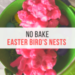 No Bake Treats  – Easter Bird's Nests