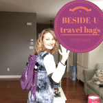Beside-U Travel Bags – Safe, Secure and Fashionable #Giveaway
