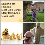 Lindt's New Gold Bunny Easter App Gives Back #GoldBunnyStory #Giveaways