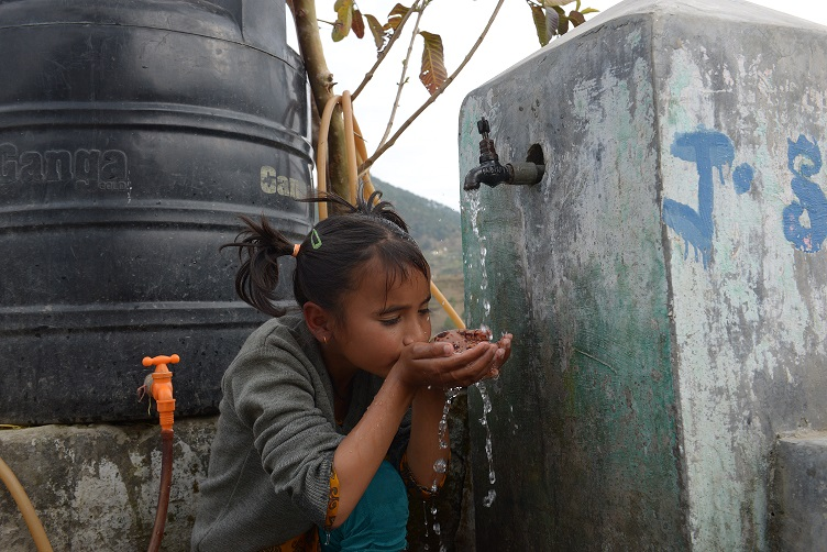 """""""Having drinking water close to my house makes me happy. The water is clean and tasty. Earlier my mother and I had to walk very far to fetch water but after World Vision built water supply sources closer to our homes we don't have to walk far. People in my house and in my village drink from the tap now,"""" says 10-year old Deepika.  World Vision has constructed water supply and storage structures using green energy like solar energy to give community members access to safe and clean water for drinking and also to improve the sanitation conditions in the communities.  In total, 138 households have access to clean drinking water along with a primary school."""