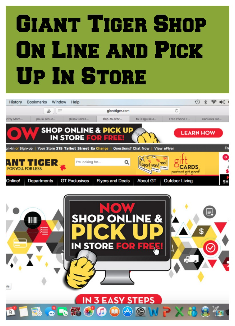 Giant Tiger Online Equals Giant Savings And Convenience Thrifty Mommas Tips