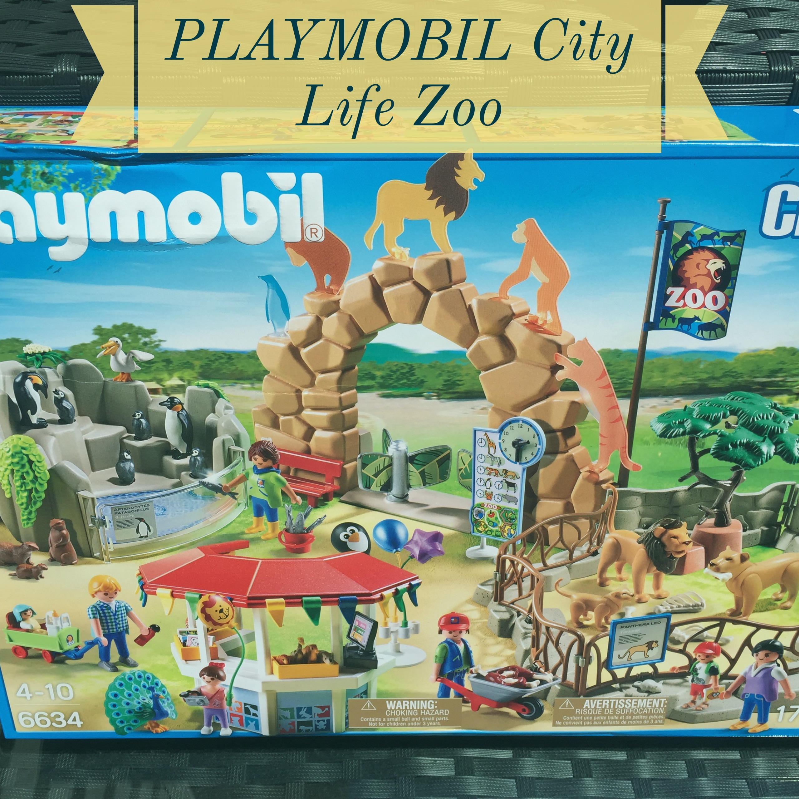 playmobil city life zoo  imagination station  thrifty