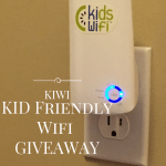 Kid-Friendly Internet with KidsWifi #Giveaway