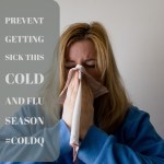 Cold and Flu Season – Prevent Getting Sick with Cold-Q #ColdQtotheResQ