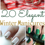 20 Elegant DIY Winter Manicures