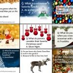 Adorable Printable Christmas Jokes for Kid's Lunches