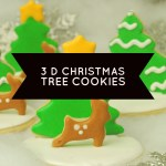 Show-stopping 3 D Christmas Tree Cookies