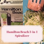 Electric Spiralizer – A 3-in-1 Powerhouse #Giveaway