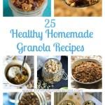 25 Healthy Homemade Granola Recipes