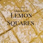 Gluten Free Lemon Squares – Sweet Indulgence #BornOnTheFarm #Giveaway