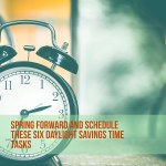 Spring Forward: Schedule These Six Daylight Savings Time Tasks #ChurchandDwight