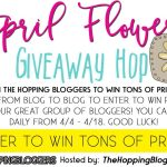 Cheer Up With the April Flowers Giveaway Hop