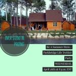 Be a Summer Hero – Parkbridge Resorts Twitter Party – RSVP Now – #ParkbridgeLife
