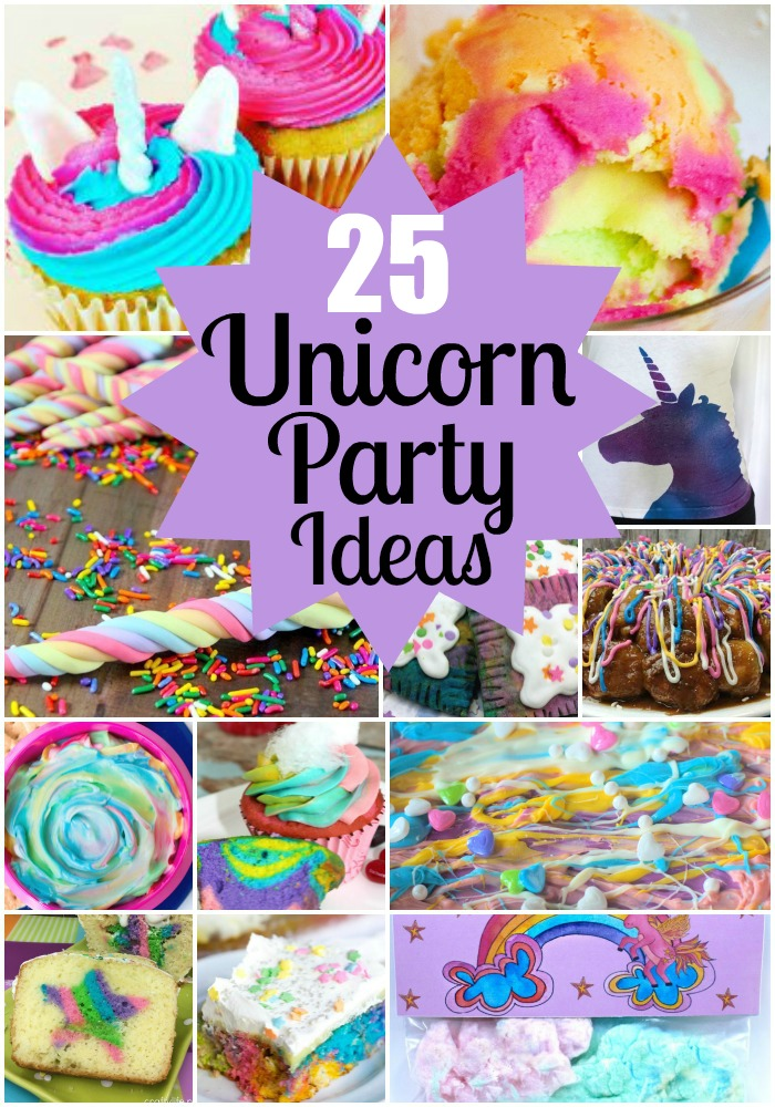 21 Whimsical Unicorn Party Ideas - Thrifty Mommas Tips